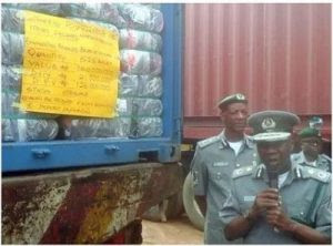 Customs Seizes 498 Cartons Of Codeine Syrup Worth N199.2 Million (Photo)