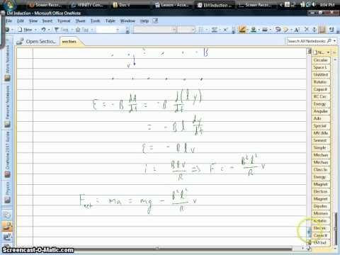 Doc V Physics: How to Find Terminal Velocity of Conducting