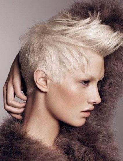 Tagli capelli corti su la cresta! Hairadvisor - tagli di capelli corti con cresta
