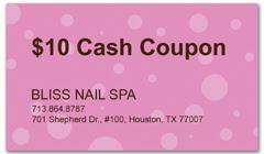 CPS-1022 - salon coupon card