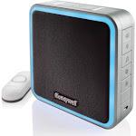 Honeywell RDWL917AX2000/E Series 9 Portable Wireless Doorbell with halo Light & Push Button