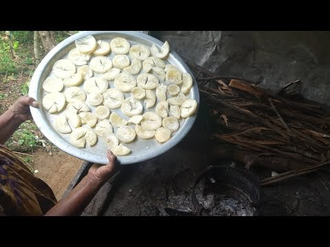 Making Crispy French Fries In Village Recipe | French Fries Potato Chips