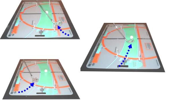 golf putting alignment aid