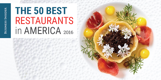 The 50 best restaurants in America