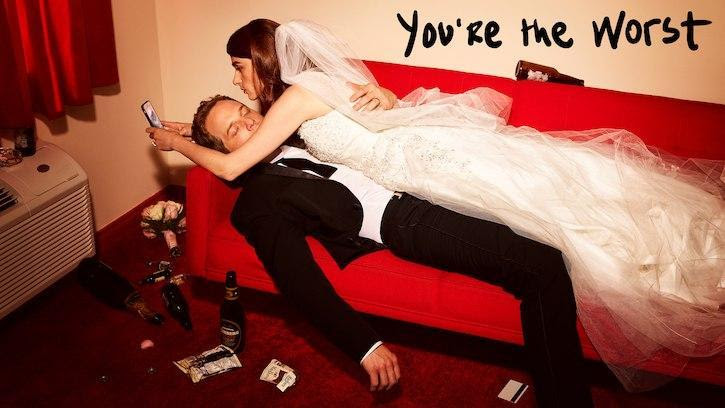 You're The Worst - A Bunch Of Hornballs - Review: You Only Have Yourself To Blame