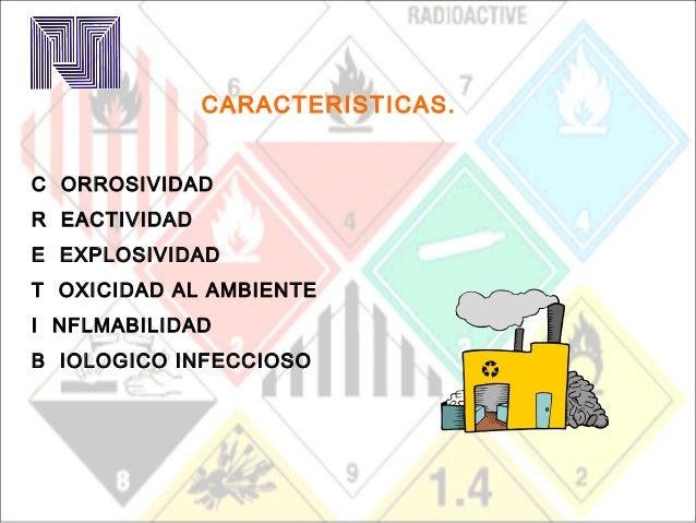 Características Materiales Peligrosos 2