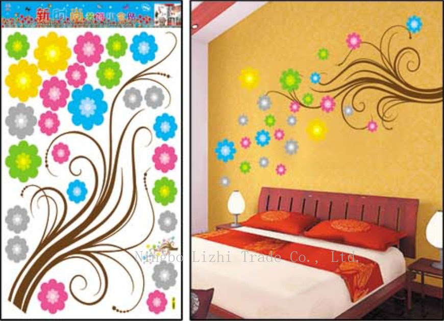 DECORATION STICKERS FOR WALLS @ Wall Decor