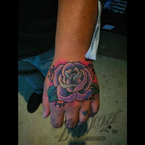 traditional ish job stopper rose zach decker tattoos