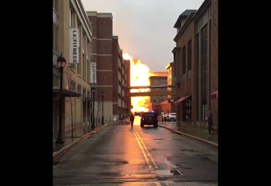 Video: Explosion, Fireball Rocks Crocker Park