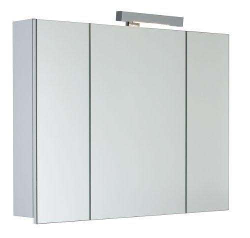 mebasa myb904509t spiegelschrank telia 3d effekt 3 t ren 6 glasablagen softclose mit. Black Bedroom Furniture Sets. Home Design Ideas