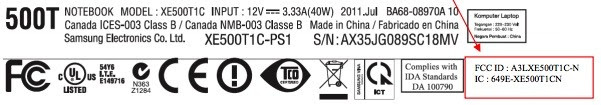 Samsung Series 5 Slate  ATIV Smart PC reaches out and touches the FCC