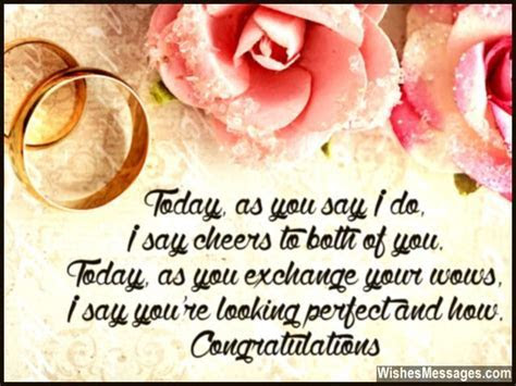 Wedding Card Quotes and Wishes: Congratulations Messages