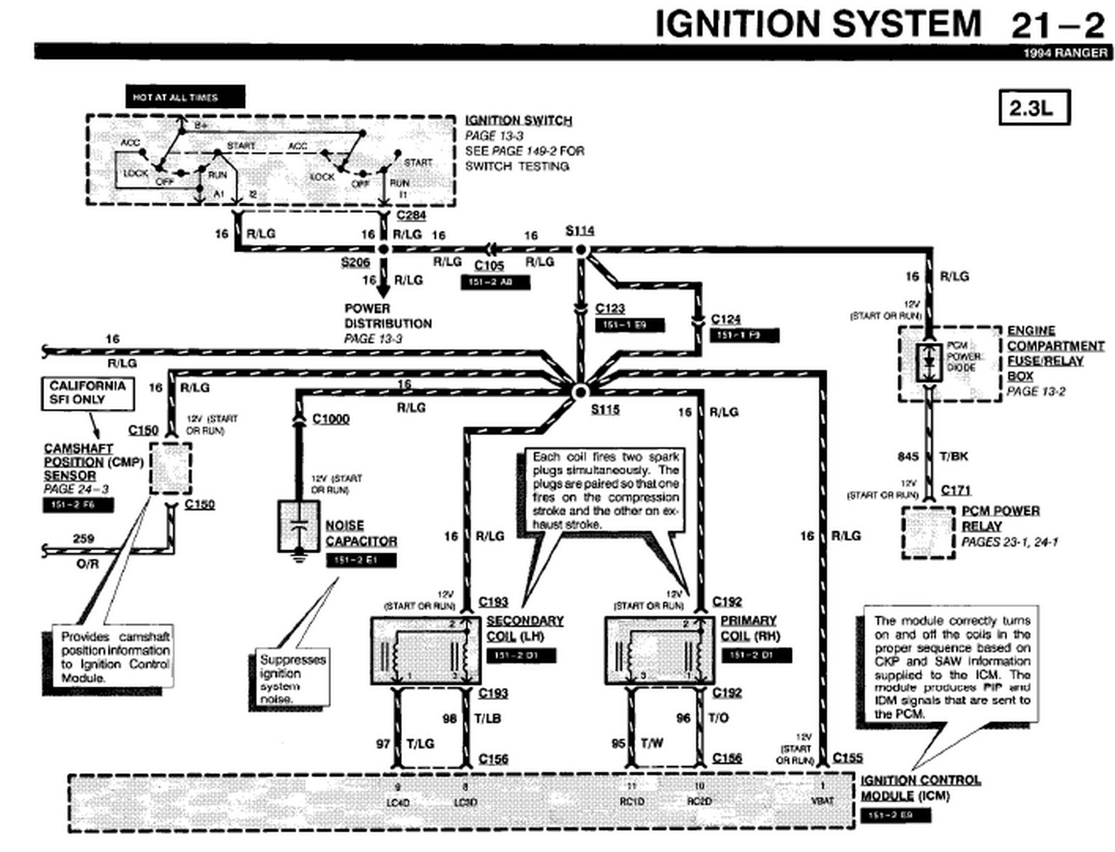 [Download 28+] 94 Ford Ranger Fuel Pump Wiring Diagram