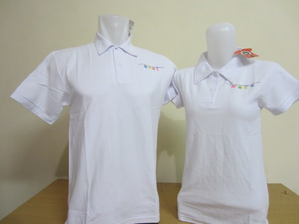 polo baju soulmate putih a pusatkaoscoupleku