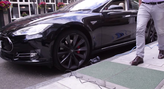 Charging a Tesla Model S through Human Footsteps - TESLARATI.com