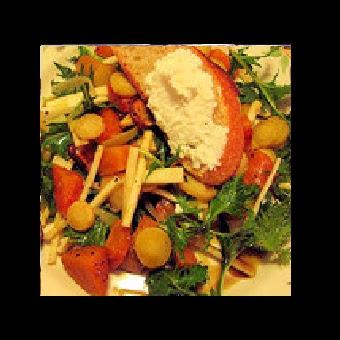 Not Mine - Pear Arugula Salad