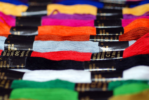 Brightly Coloured Threads