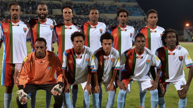 Eritrean national team before Botswana