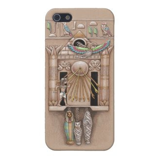 Egyptian Cuckoo Clock Cover Cases For iPhone 5
