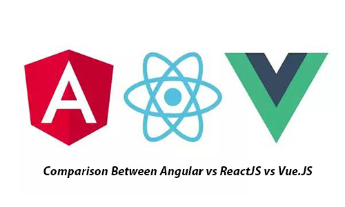 Comparison Between Angular vs ReactJS vs Vue.JS