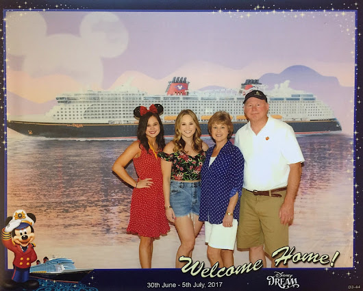[Day 1] Disney Dream - Sail Away!
