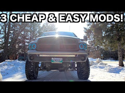 3 CHEAP TRUCK MODS THAT YOU CAN DO EASY!