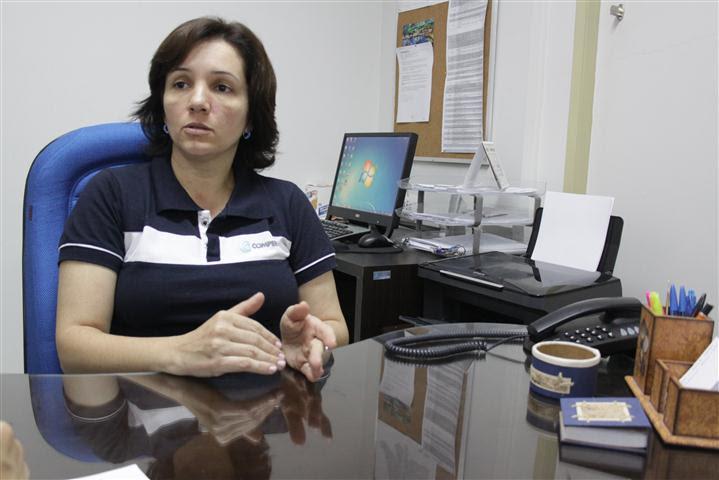 Magda Pinheiro, presidente da COMPERVE: o número de faltosos foi muito semelhante ao do ano passado