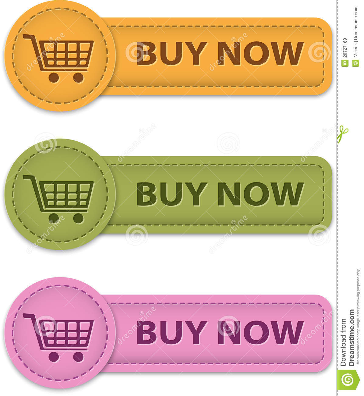 Buy Button: Buy Now Button: Buy Now Buttons Royalty Free Stock Images