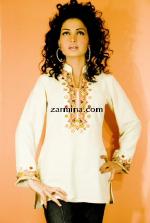 Zarmina Cypress Tunic
