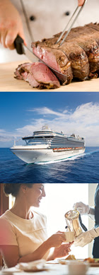 Enjoy home food favourites on Crown Princess