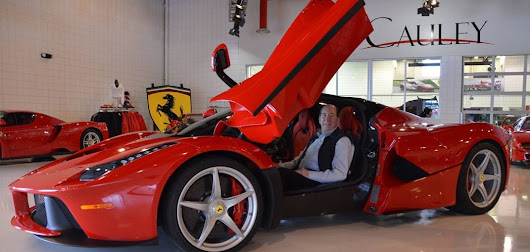Ken Lingenfelter Buys LaFerrari at Cauley Ferrari