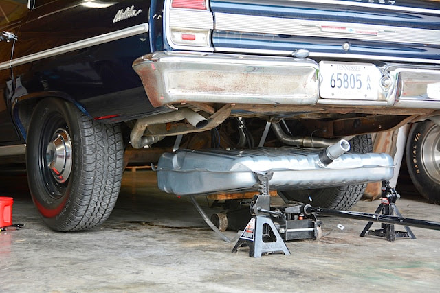 How To Install An Efi Ready Fuel System In An Early Chevelle