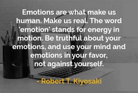 kata kata motivasi robert  kiyosaki emosi manusia