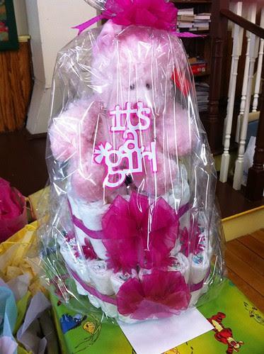 Diaper Cake - It's a Girl