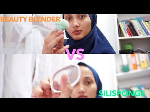 HOW TO COVER PANDA EYES (Silisponge VS Beauty Blender)