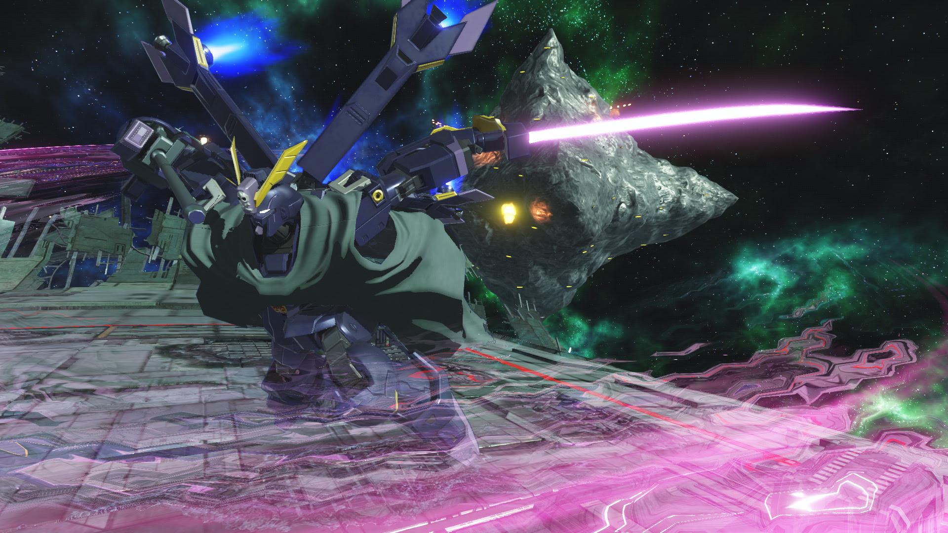 Gundam Versus gets European release date and a handy game mode trailer screenshot