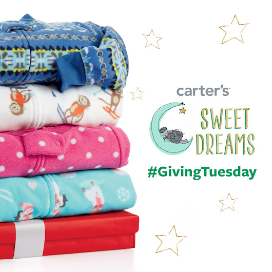 Giving Tuesday and Carter's Sweet Dreams Pajama Program