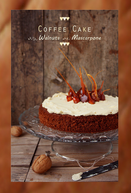 Coffee cake wih mascarpone