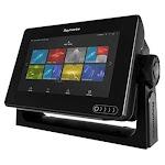 Raymarine Axiom 7 DV 7 MFD w/CHIRP DownVision , CPT-100 DVS Transducer & Navionics+ Chart