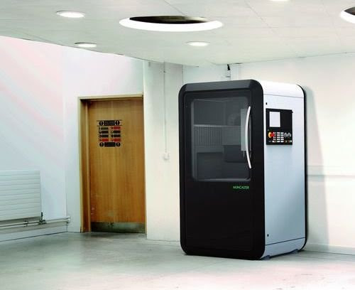 "Muncaster Technologies to rival 3D printing with ""cross-over"" CNC machine"