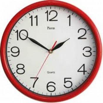 jam bergerak ke kanan