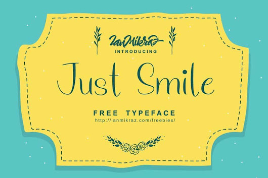 Font Just Smile free download | Typeface