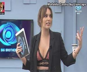 Mafalda Castro a sensual apresentadora do BB2020