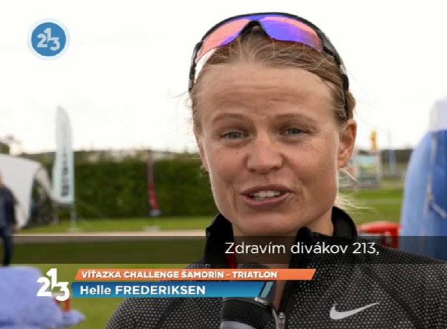 Zkušební vysílání TV 213. Reprofoto