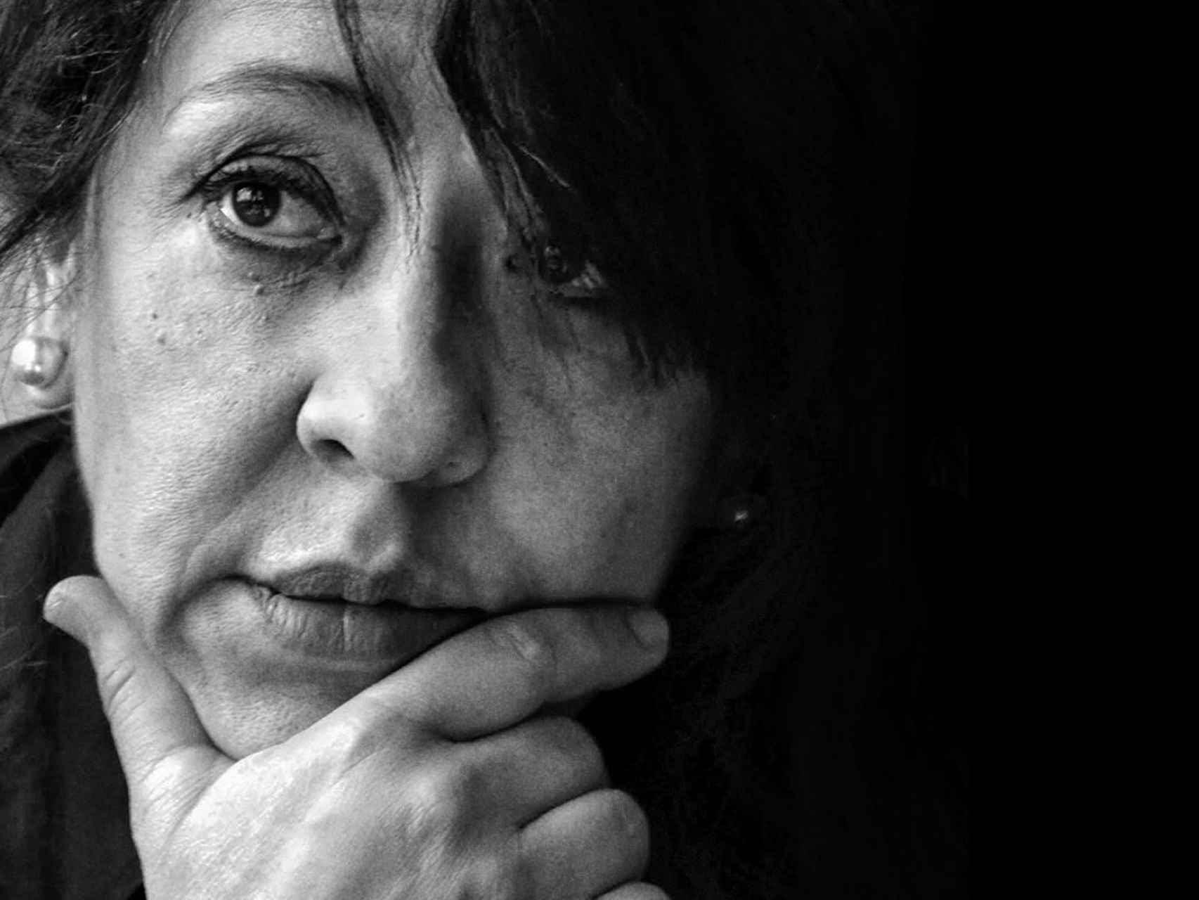 La poeta María Auxiliadora Álvarez.