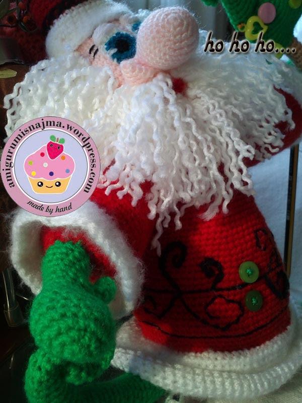 santa claus crochet doll ganchillo najma-04