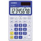 Casio SL300VC Solar Handheld Calculator - 8 Digits - Blue