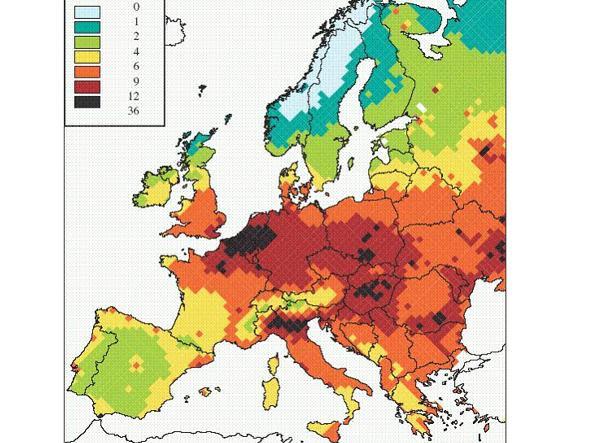 Risultati immagini per UE - C'è troppa ammoniaca nell'aria...