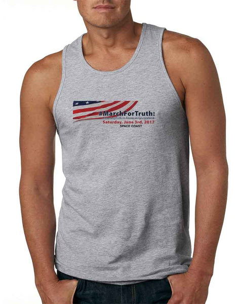 March for Truth - Action Brevard Mens Tank Top