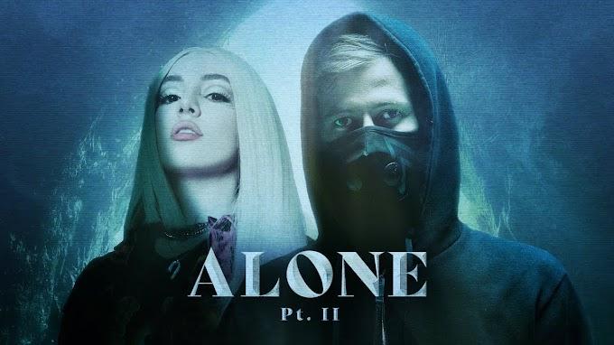 Alan Walker & Ava Max - Alone Pt. ii lyrics-Alan walker songs